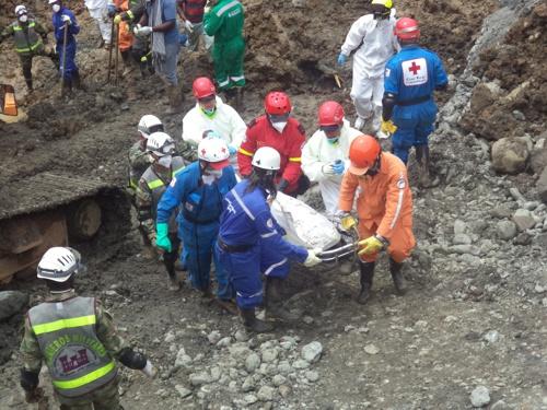 Víctimas de la minería ilegal en San Antonio, Santander de Quilichao, Cauca