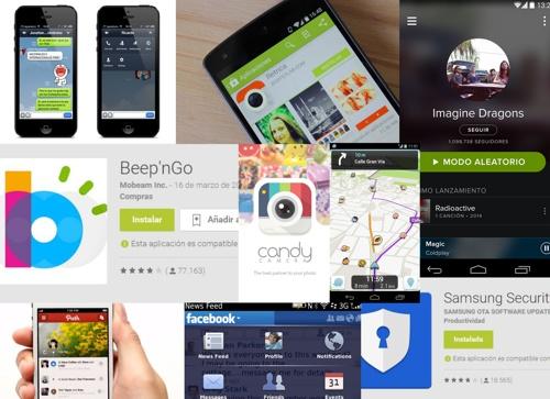 collage de aplicaciones