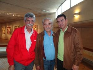 Alfonso Luna Geller, Alfredo Molano Bravo, Gustavo Alzate Zamora A