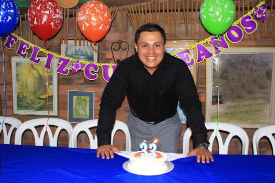 David Luna, gerente de Proclama del Cauca, cumpleaños