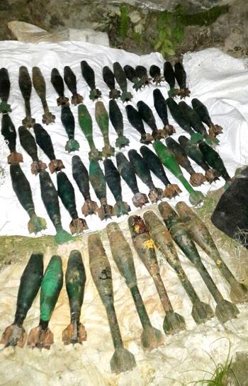 Desmantelan depósito de granadas de las Farc en el Cauca2