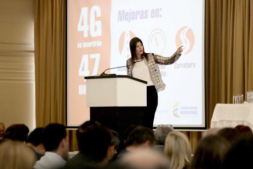 En el 2016 peajes deben ser electrónicos, Natalia Abello, Mintransporte