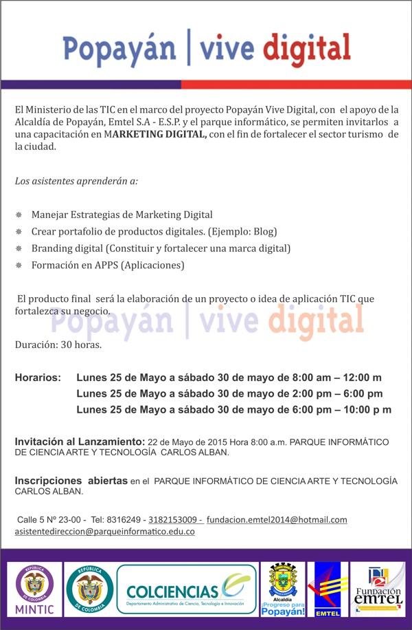 Popayan vive digital