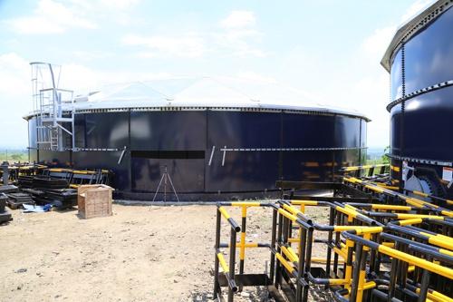 Tanques de almacenamiento de agua - Acueducto Regional Norte del Cauca