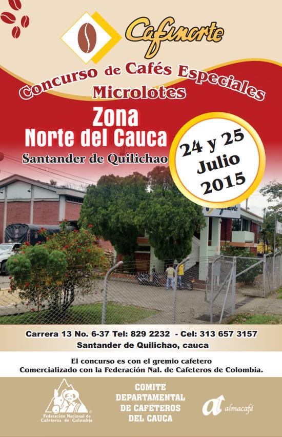 Cafinorte - Concurso de Cafés Especiales - Zona Norte del Cauca