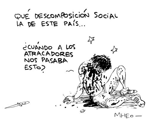 Caricatura Mheo