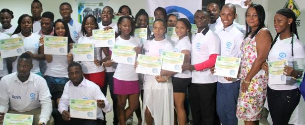 Jóvenes de Chocó cumplen sus sueños a través de la educación - BBVA - Fundación Plan2