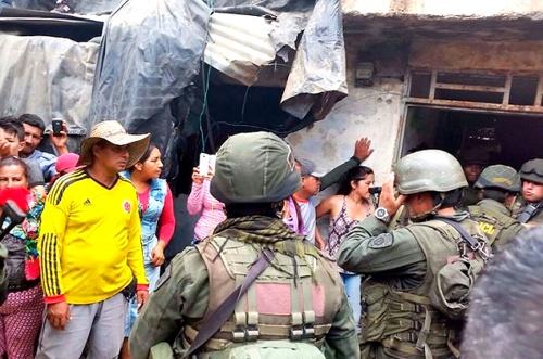 Sacan a la Policía de El Mango, Argelia, Cauca