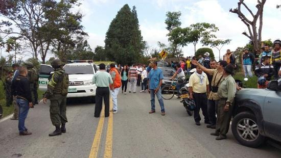 Tres policías muertos en Timbío, Cauca1