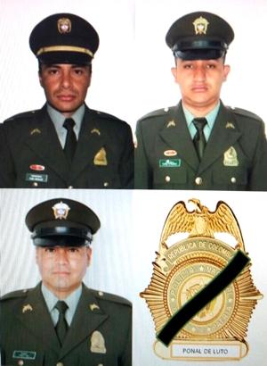 Tres policías muertos en Timbío, Cauca5
