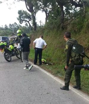 Tres policías muertos en Timbío, Cauca6