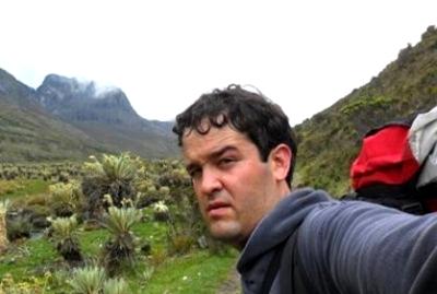 Alberto Parra Gómez, excursionista huilense