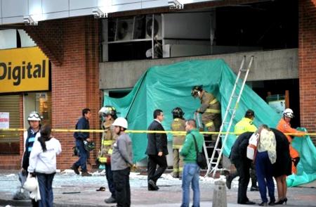 Ataque terrorista a Porvenir en Bogotá - Colombia