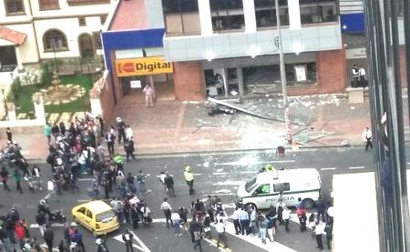 Ataque terrorista a Porvenir en Bogotá