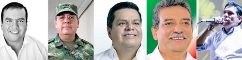 Candidatos a la Gobernación del Cauca 2015