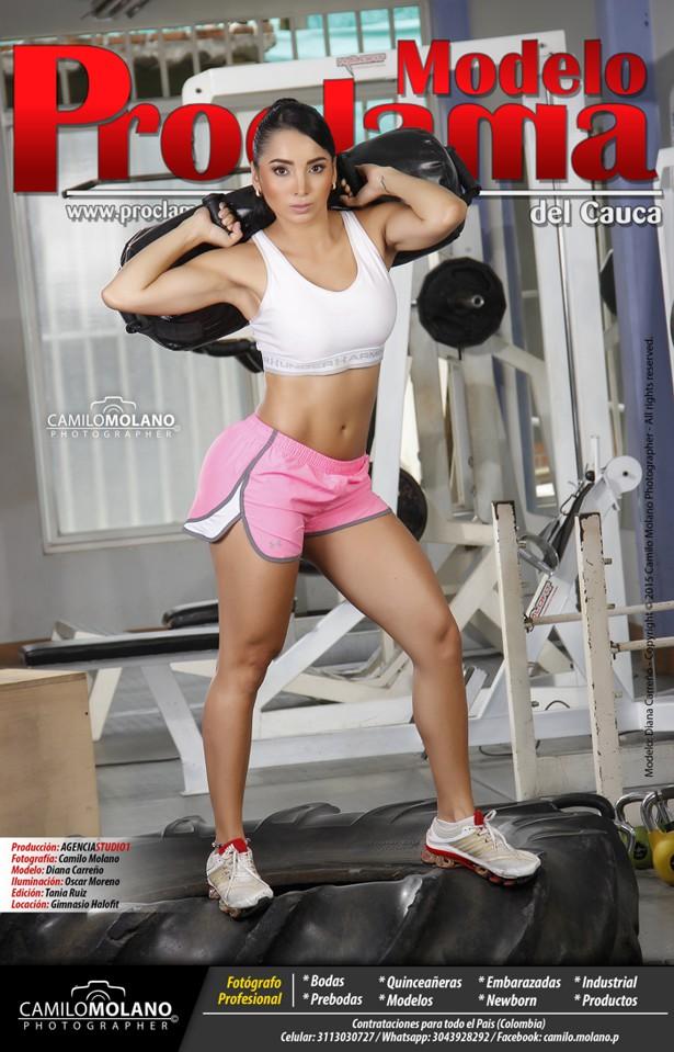 Diana Carreño - Modelo Proclama del Cauca - Fin de Semana