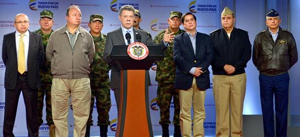 Juan Manuel Santos - Consejo de seguridad - Bogotá