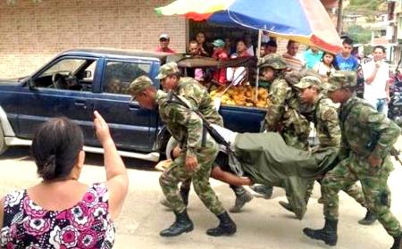 Nuevo ataque de las Farc en Argelia, Cauca, dejó 7 heridos