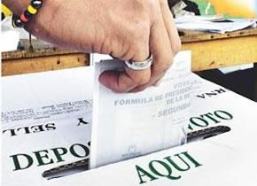 Votación, elecciones en el Cauca