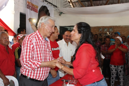 Humberto Peláez, Lucy Amparo