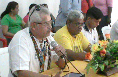 Jorge Arias - alcalde de Caloto - Cauca