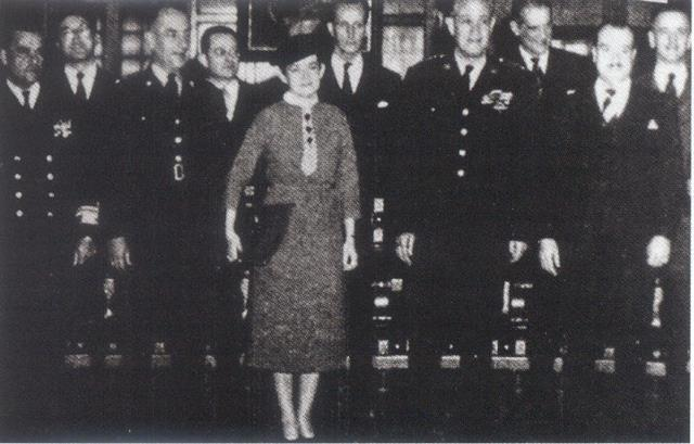 Josefina Valencia de Hubach, primera mujer en el gabinete