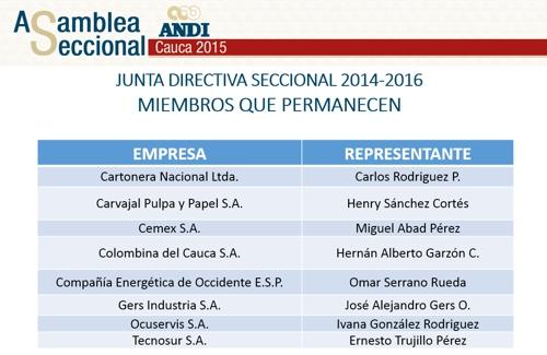 Nueva junta directiva 3