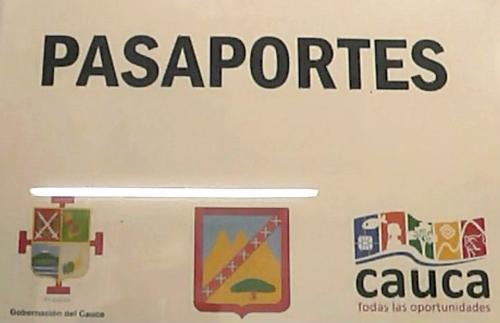 Oficina de Pasaportes - Gobernación del Cauca