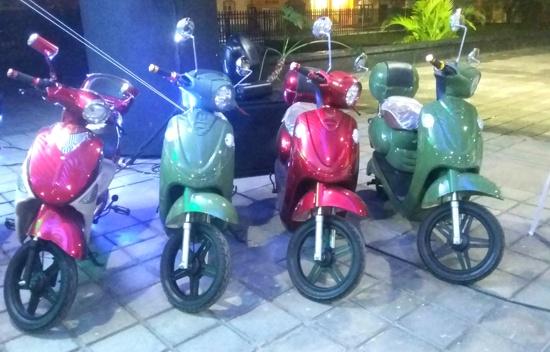 Bicicletas eléctricas sorteadas en la Lotería del Cauca