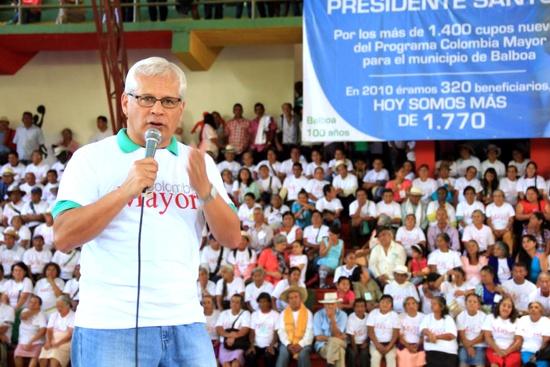 Colombia Mayor en Balboa - Cauca - Juan Carlos López Castrillón
