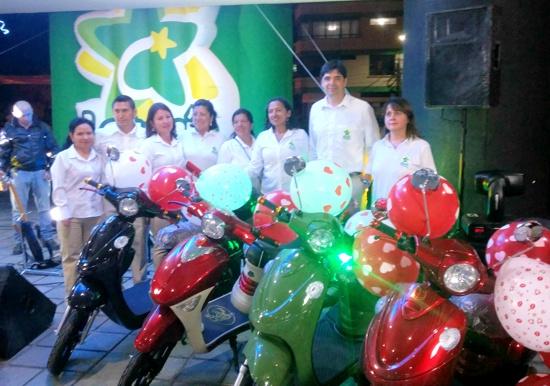 Equipo de trabajo - Lotería del Cauca - bicicletas eléctricas