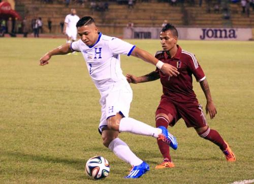 Honduras le ganó 3-0 a Venezuela en amistoso internacional