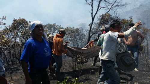 Incendio forestal 5