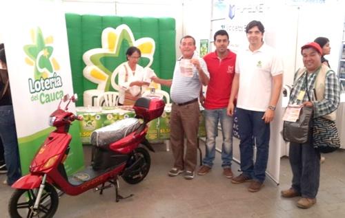 Lotería del Cauca presente en el XIII Congreso Gastronómico de Popayán