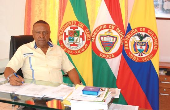 Armando Mina Mena - Alcalde de Padilla - Cauca - Foto Proclama del Cauca