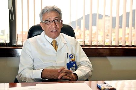 Carlos Eduardo Valdés, director de Medicina Legal