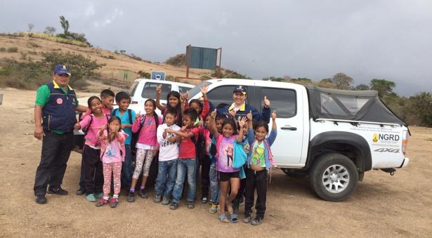 Comunidad de San Sebastián recibe ayudas humanitarias