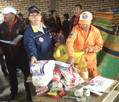 Comunidad de San Sebastián recibe ayudas humanitarias1