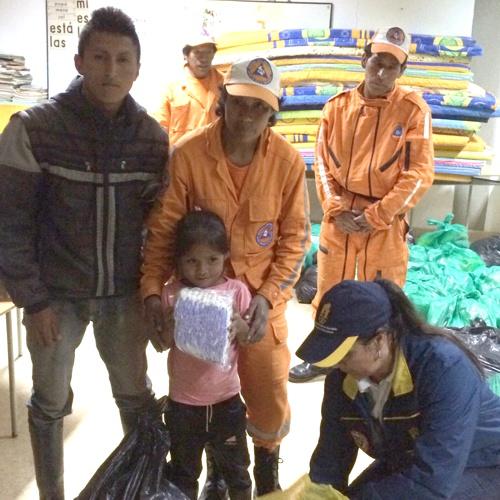 Comunidad de San Sebastián recibe ayudas humanitarias2