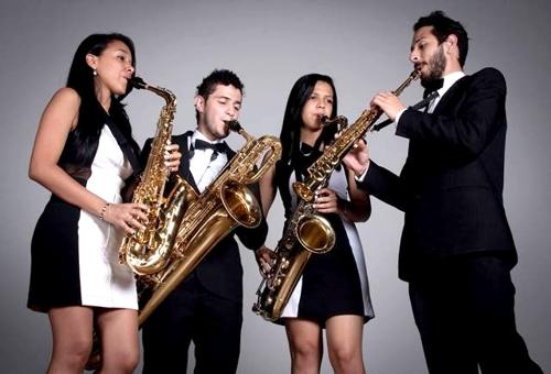 Cuarteto de Saxofones 234 - Universidad del Cauca