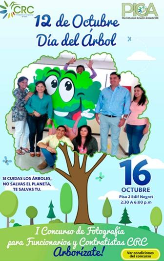 Día del árbol - CRC - Cauca