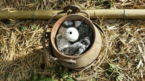 Desactivan artefacto explosivo en el norte del Cauca - cilindro bomba