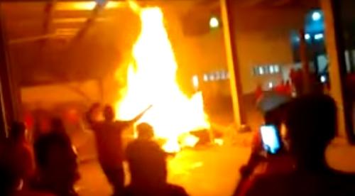 Disturbios en La Sierra, Cauca, luego de elecciones