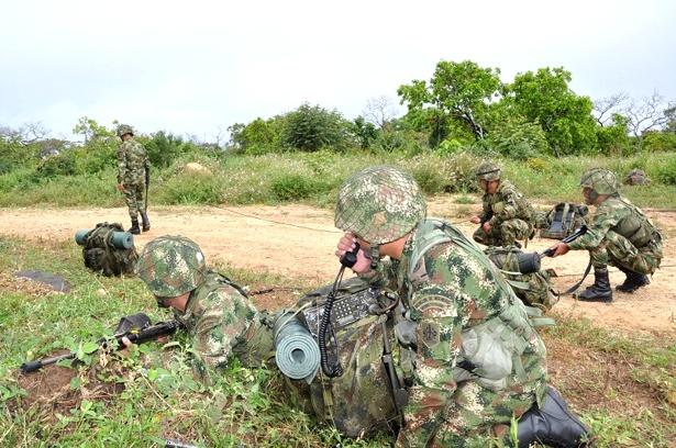 Ejército tras los responsables del asesinato de los 12 uniformados en Güicán, Boyacá