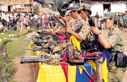 Farc, paz en el Cauca, entrega de armas