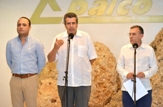Luis Fernando Velasco, Roy Barreras y Alfredo Deluque