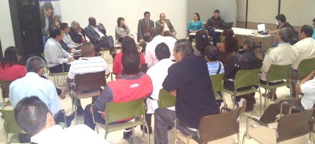 Mesa departamental por el derecho a la salud en el Cauca