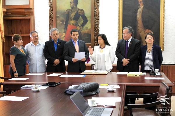 Se posesionaron nuevos integrantes del Consejo Superior Universitario en Unicauca
