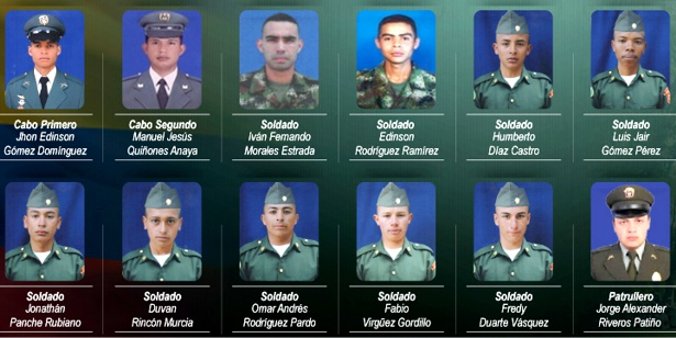 Uniformados muertos en ataque del ELN en Güicán, Boyacá