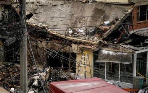 Accidente de avioneta en Bogotá